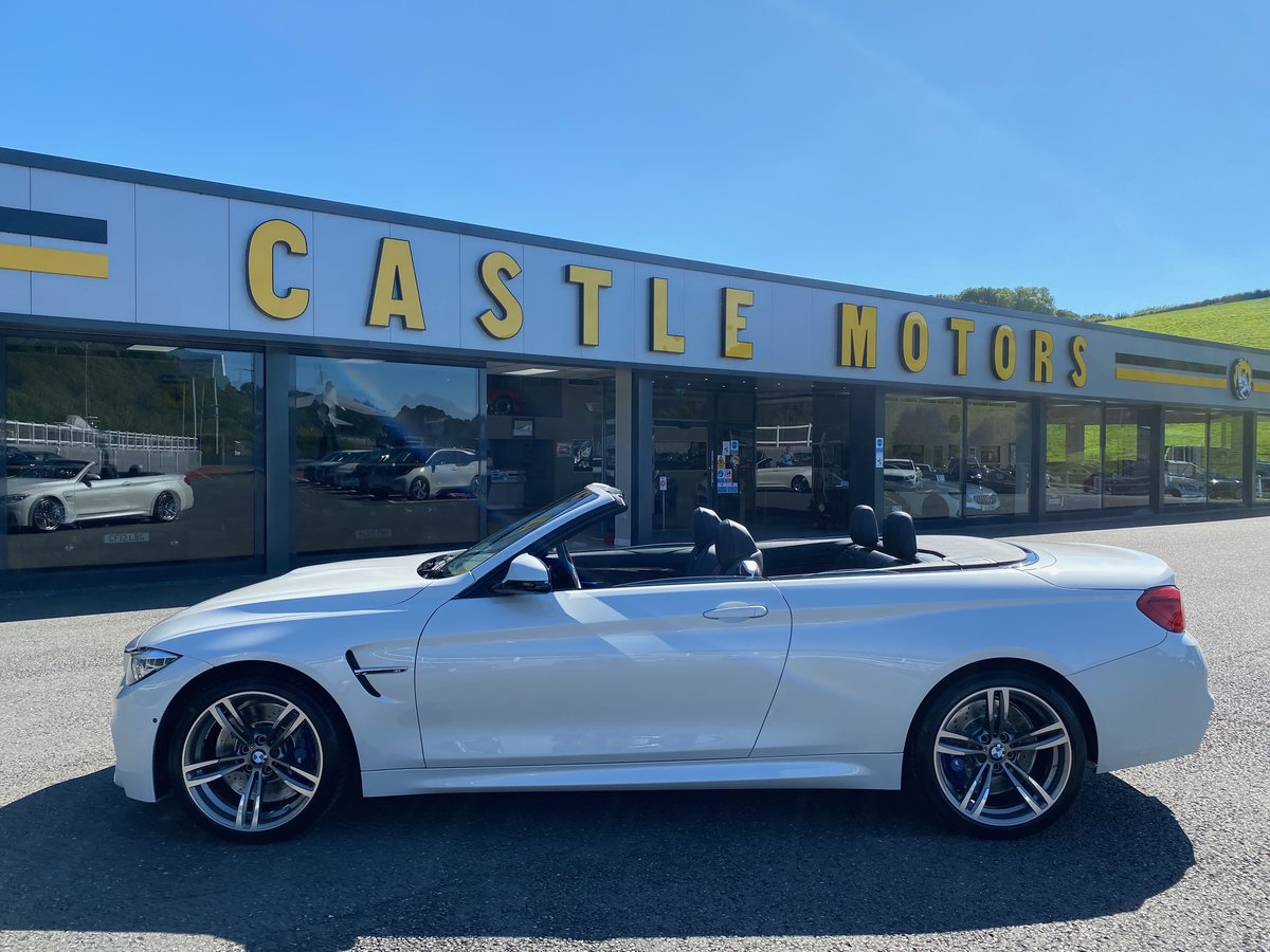 2018 68 BMW M4 3.0 M4 CONVERTIBLE MANUAL  For Sale (picture 2 of 6)