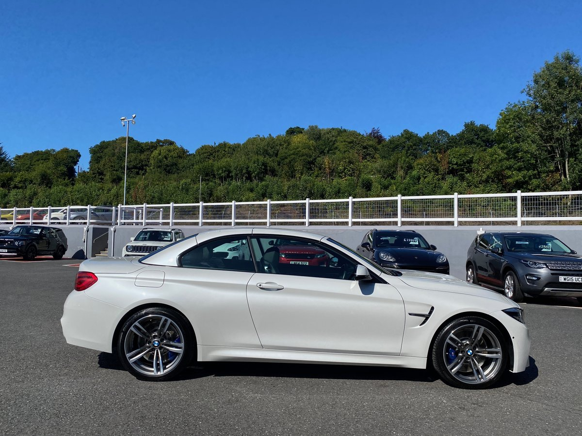 2018 68 BMW M4 3.0 M4 CONVERTIBLE MANUAL  For Sale (picture 3 of 6)