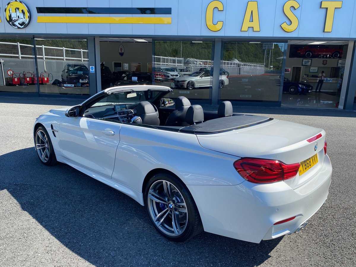 2018 68 BMW M4 3.0 M4 CONVERTIBLE MANUAL  For Sale (picture 4 of 6)