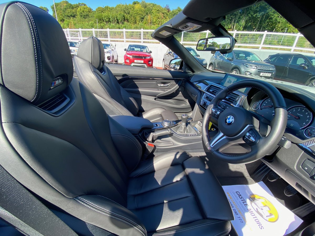 2018 68 BMW M4 3.0 M4 CONVERTIBLE MANUAL  For Sale (picture 5 of 6)