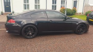 BMW 645CI,  Manual, fsh, loaded with extras.
