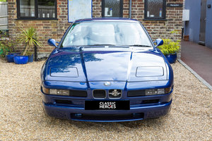 Exceptional BMW E31 850 CSI, 15,000 miles from new