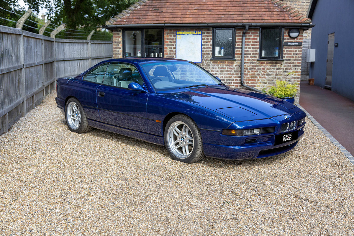 1996 Exceptional BMW E31 850 CSI, 15,000 miles from new For Sale (picture 2 of 6)