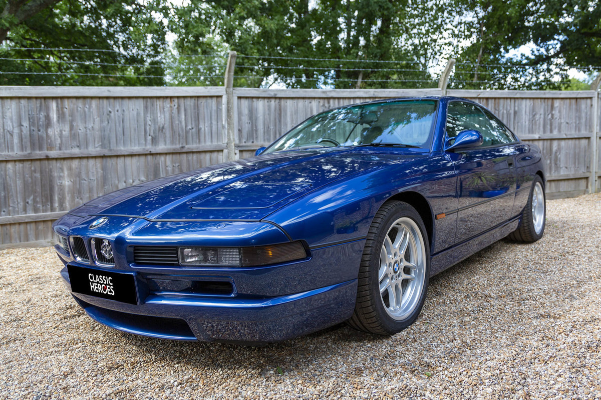 1996 Exceptional BMW E31 850 CSI, 15,000 miles from new For Sale (picture 3 of 6)