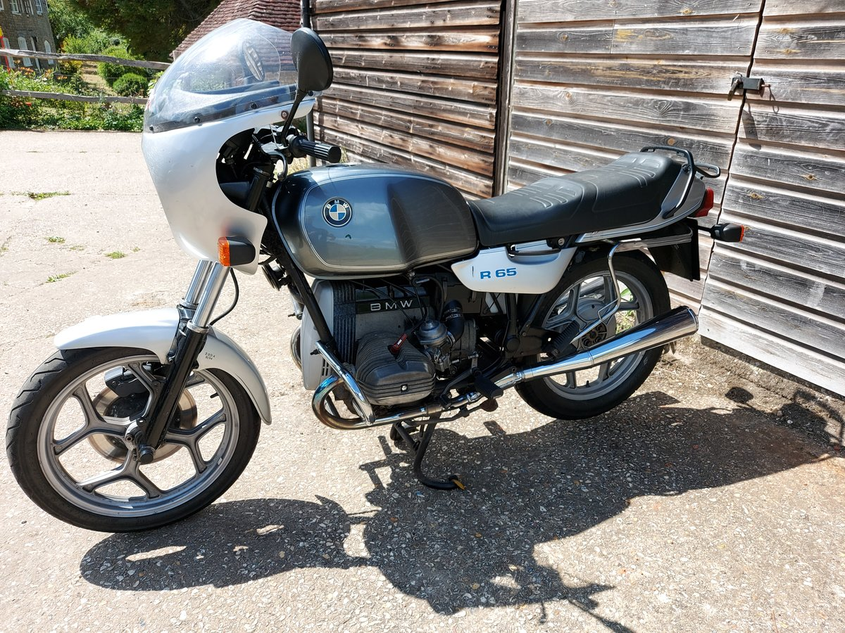 1989 BMW R65 MONO - superb opportunity! SOLD (picture 1 of 6)