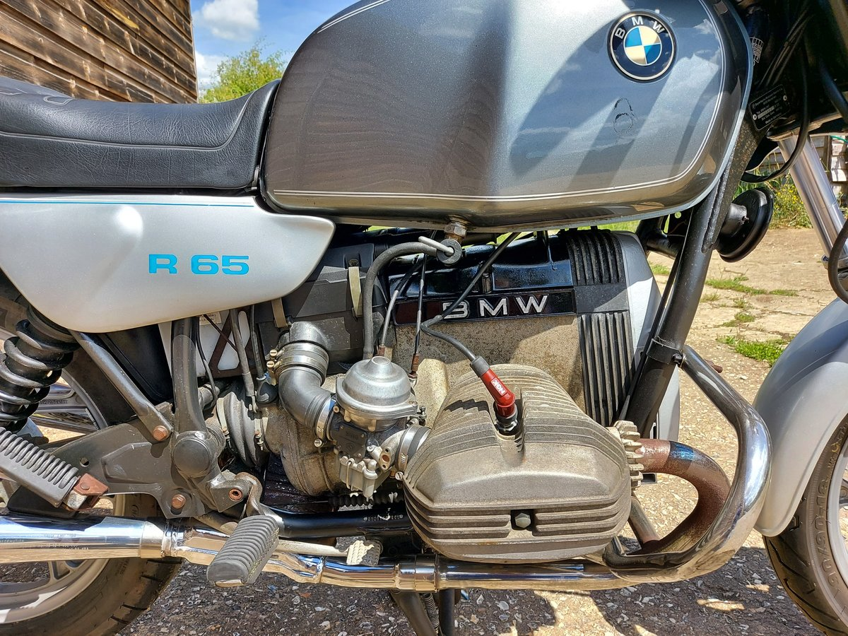 1989 BMW R65 MONO - superb opportunity! SOLD (picture 4 of 6)