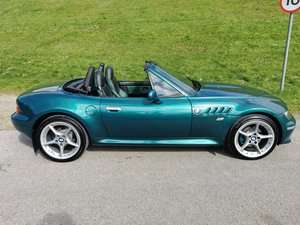 Z3 Roadster, Green/Black M Interior, Pristine