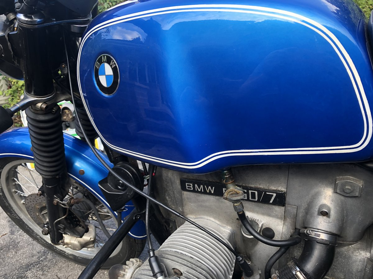 1977 BMW Air Head Motorcycle  For Sale (picture 2 of 6)