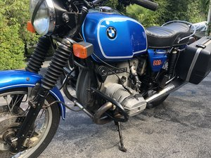Beautiful BMW R60 / 7 from 1977