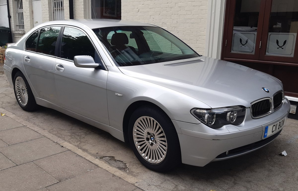 2003 bmw 730d diesel saloon history 6 months waranty For Sale (picture 1 of 6)