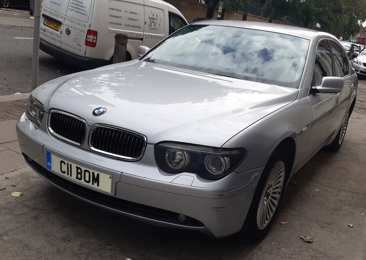 2003 bmw 730d diesel saloon history 6 months waranty For Sale (picture 2 of 6)