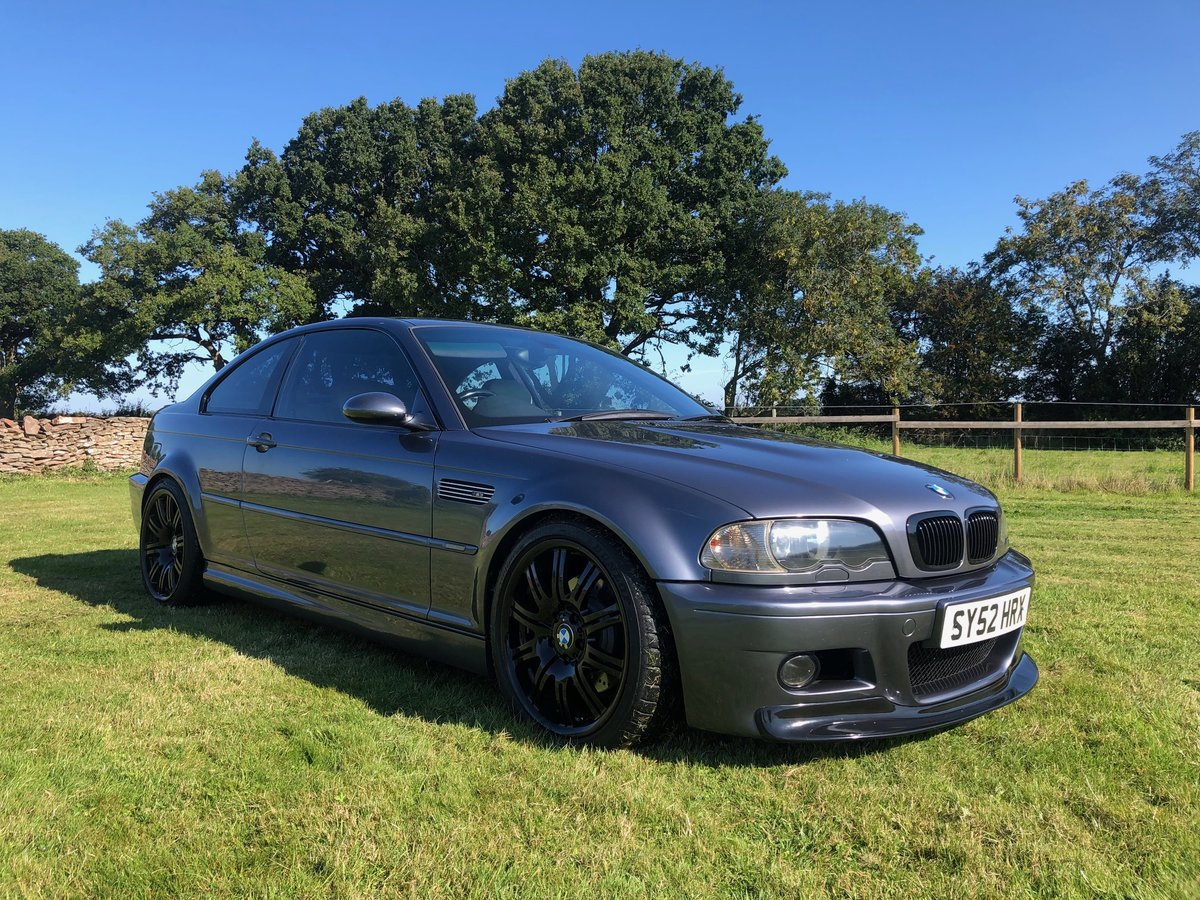 2002 BMW M3 E46 Manual Coupe Full Spec model For Sale (picture 1 of 6)