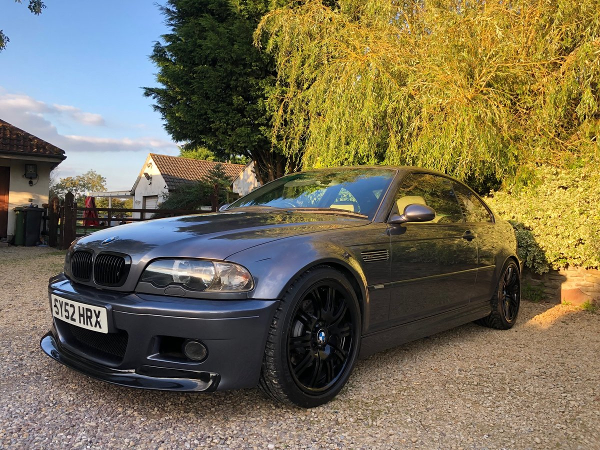 2002 BMW M3 E46 Manual Coupe Full Spec model For Sale (picture 2 of 6)