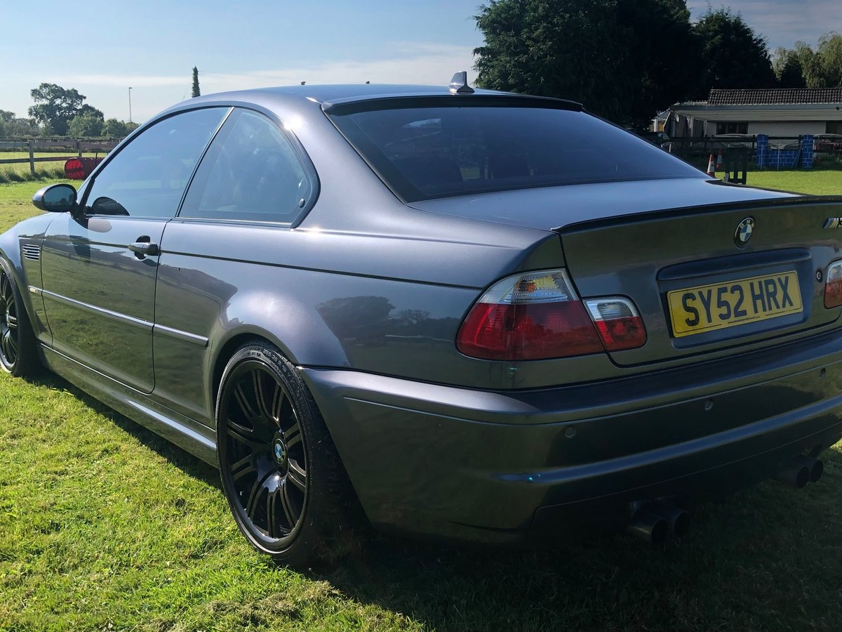 2002 BMW M3 E46 Manual Coupe Full Spec model For Sale (picture 3 of 6)