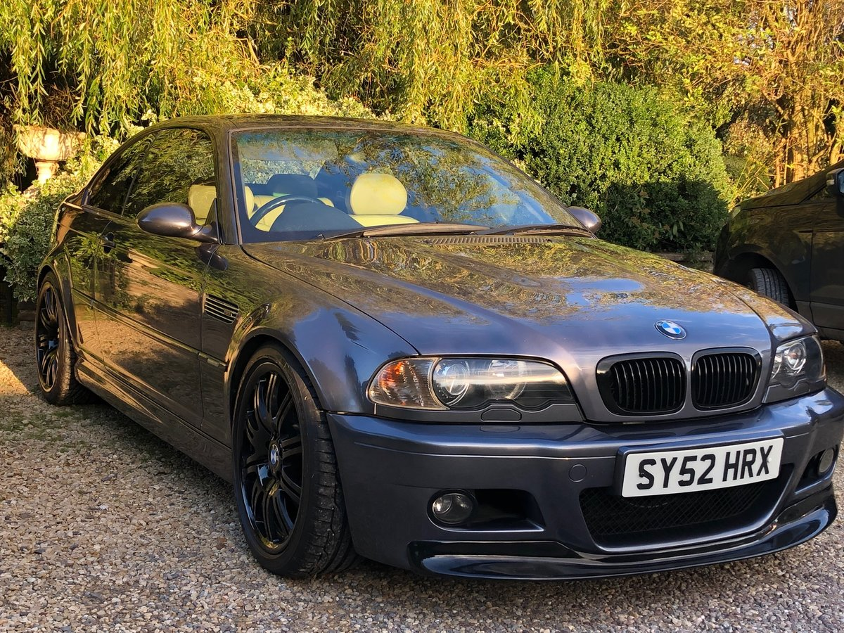 2002 BMW M3 E46 Manual Coupe Full Spec model For Sale (picture 5 of 6)