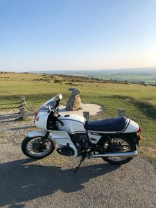 Fantastic BMW r100 RS Motorsport edition
