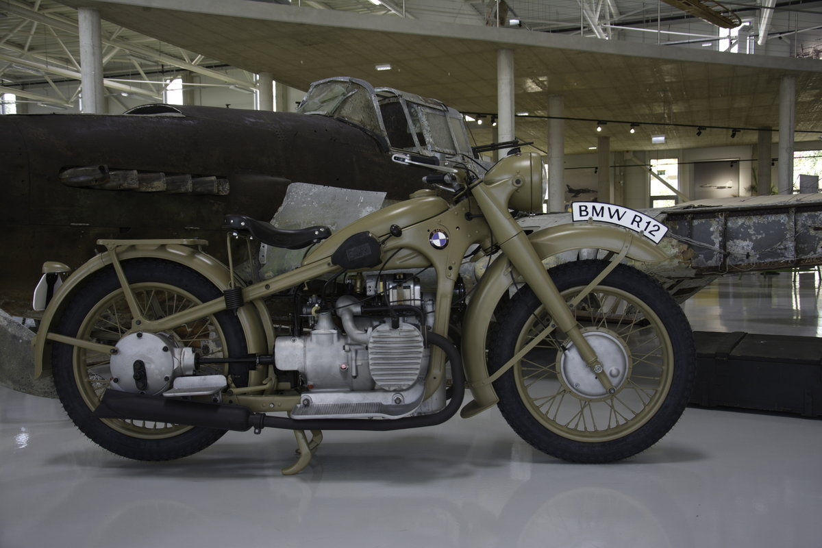 1942 Military BMW R12 For Sale (picture 1 of 6)