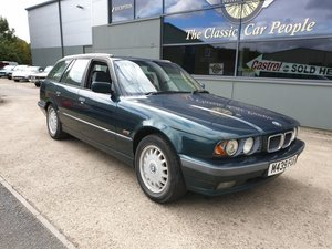 **OCTOBER ENTRY** 1995 BMW 525i X Touring