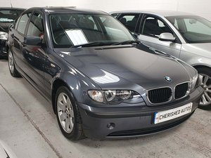 2002 BMW 318i SE 2.0 AUTOMATIC* GENUINE 39,000 MILES* RARE E46*