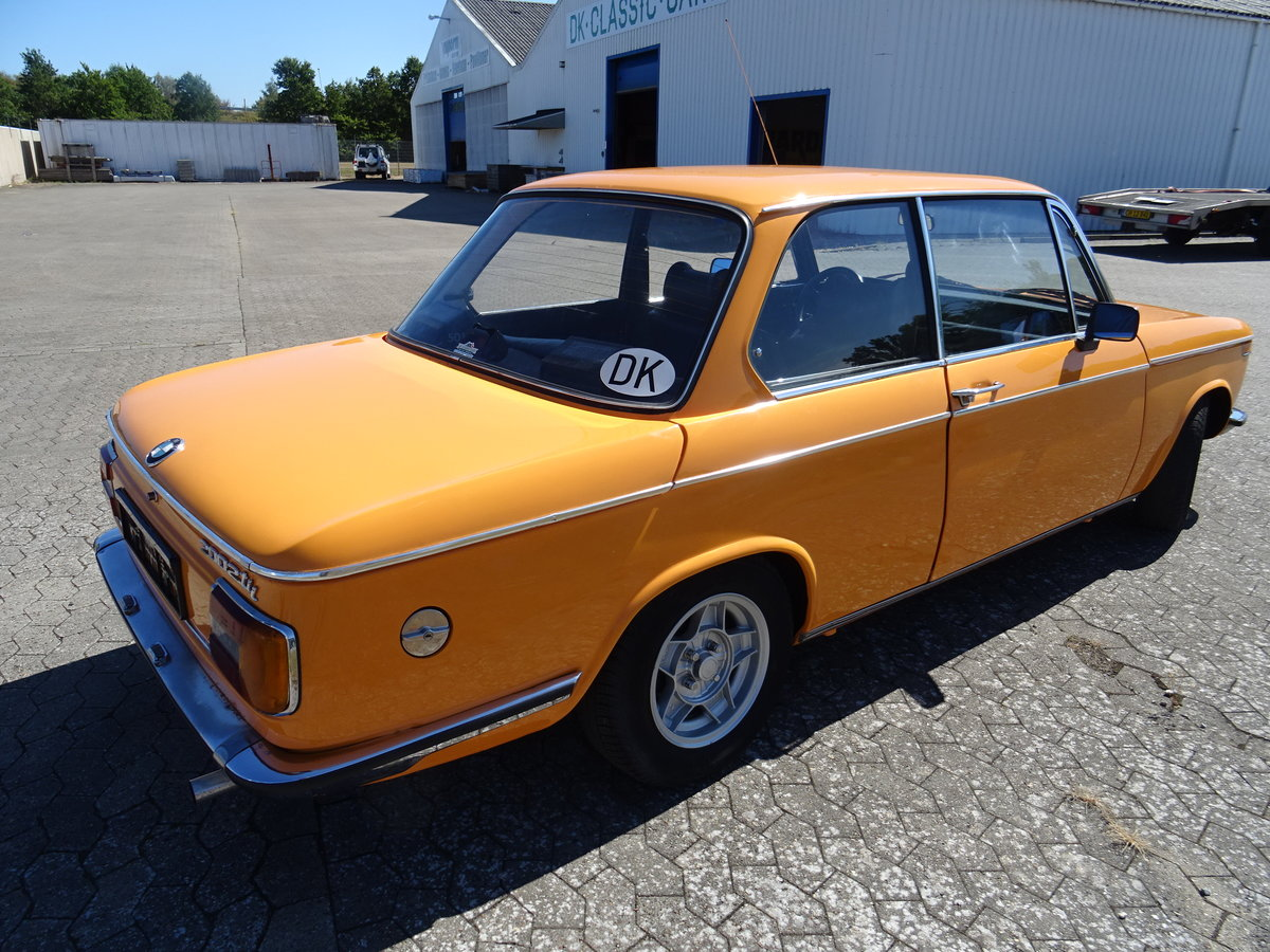 1975 BMW 2002 tii – Restoration completed August 2020 For Sale (picture 6 of 24)