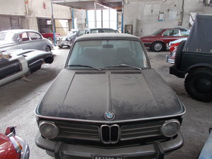1972 Bmw 2002tii bar find one owner