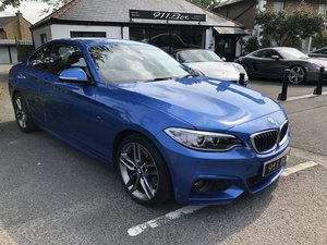 2016 BMW 218D M SPORT AUTO DIESEL COUPE SAT-NAV PHONE PREP For Sale