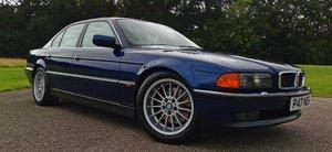 1997 BMW E38 7 Series 750i 5.4 V12 Individual