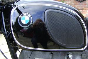 BMW Motorcycle R60/5  Black.