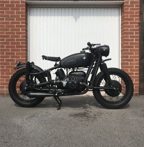 Custom BMW R50 'The Great Escape'