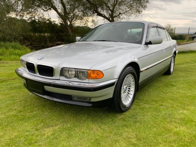 2001 BMW 7 SERIES 740i 4.4 NOT A BARN FIND * ONLY 57000 MILES * For Sale (picture 1 of 6)