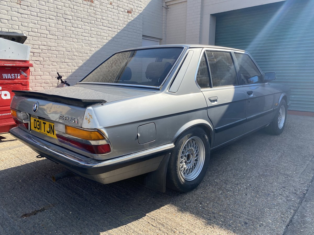 1987 BMW E28 525i  - In storage for 14 years For Sale (picture 6 of 6)