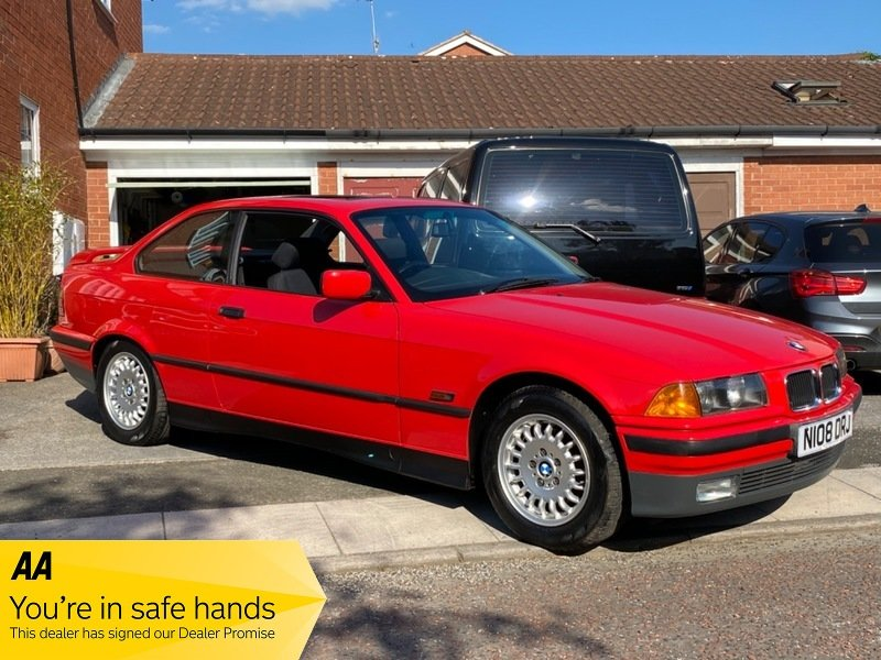 1995 BMW 316i Automatic Coupe E36 - 42,000 Miles For Sale (picture 1 of 6)