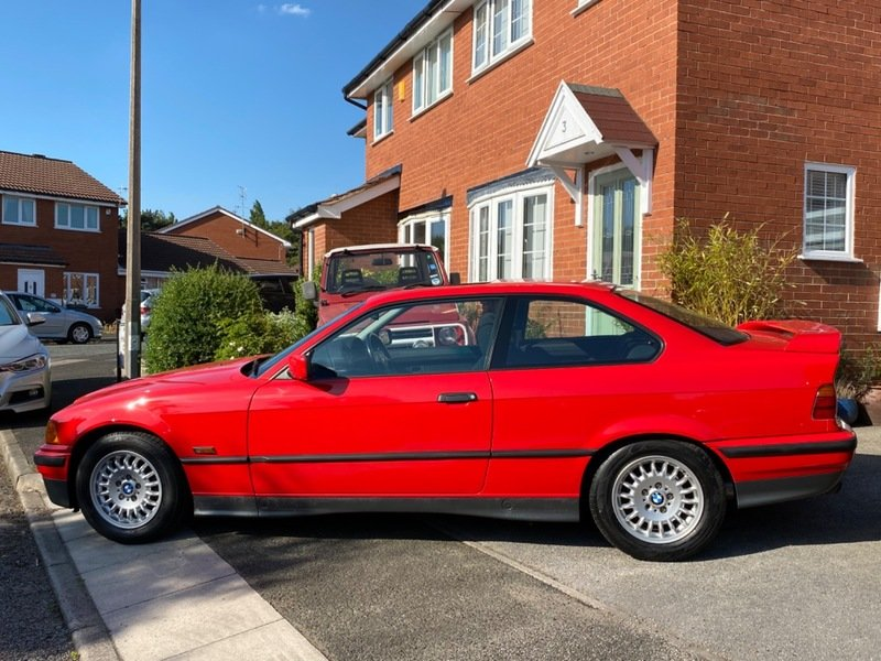 1995 BMW 316i Automatic Coupe E36 - 42,000 Miles For Sale (picture 2 of 6)