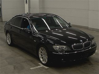 BMW 7 SERIES 740i SALOON * TOP GRADE * NASCA BLACK LEATHER *