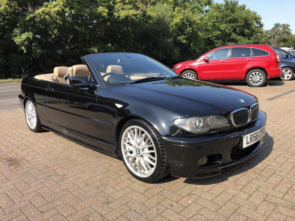 2006 (56) BMW 320 (2.2) Ci M-Sport Convertible Automatic For Sale (picture 1 of 6)