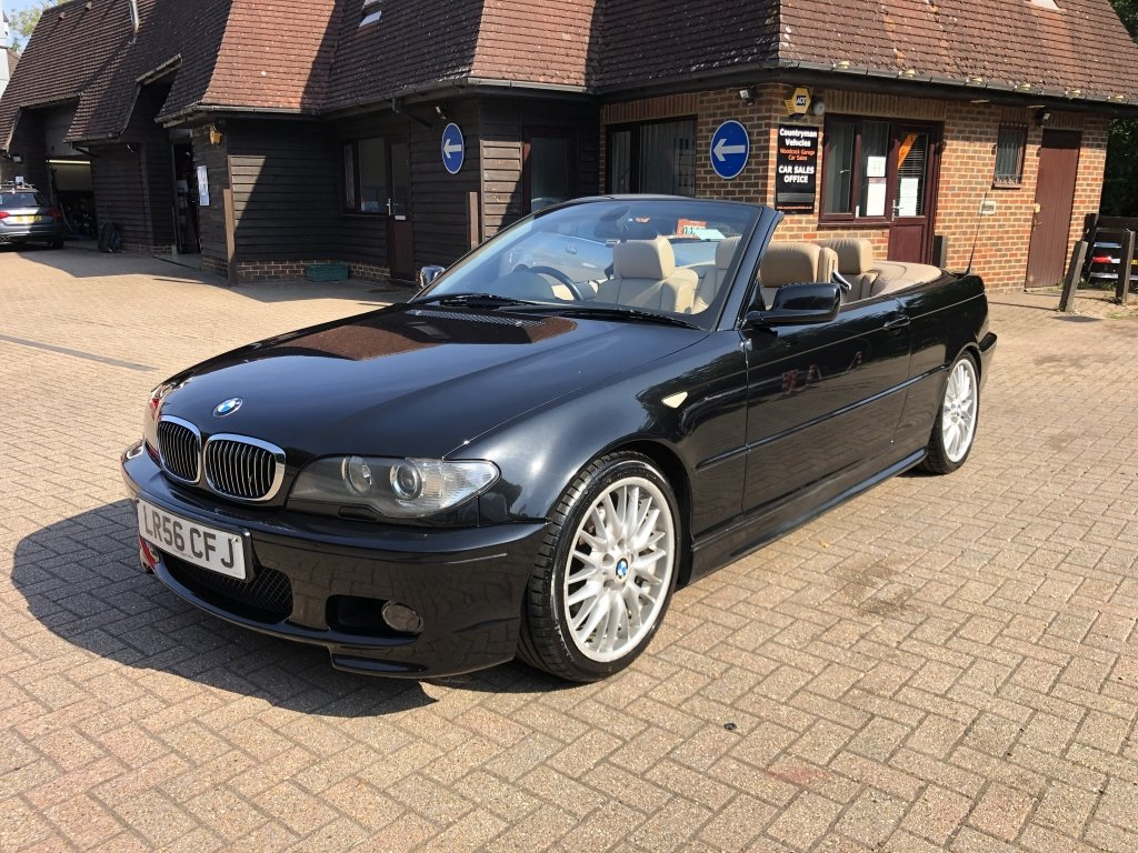 2006 (56) BMW 320 (2.2) Ci M-Sport Convertible Automatic For Sale (picture 2 of 6)