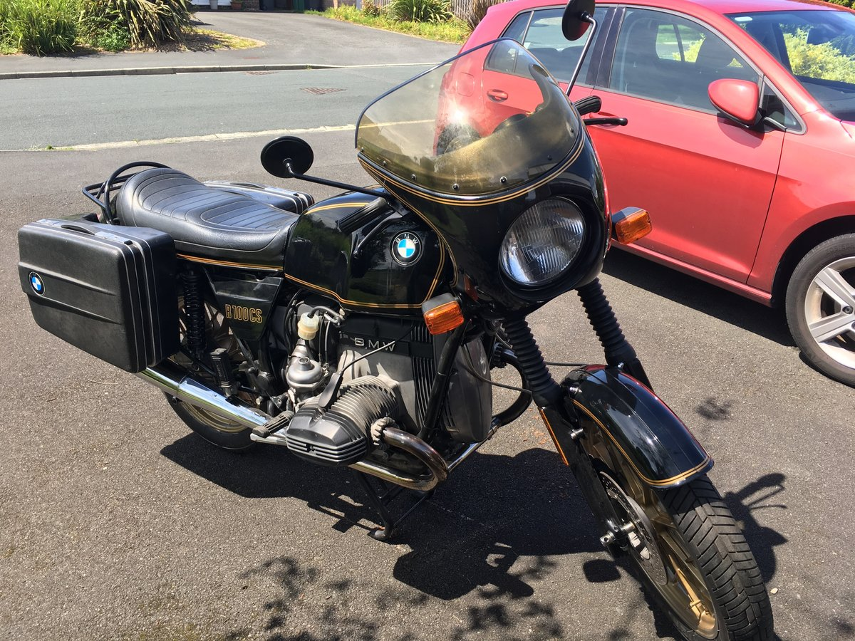 BMW R100CS 1982 For Sale (picture 5 of 6)