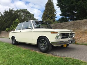 BMW 2002 Coupe fully restored and upgraded