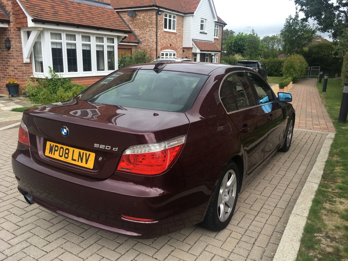 2008 BMW 520d SE For Sale (picture 4 of 6)