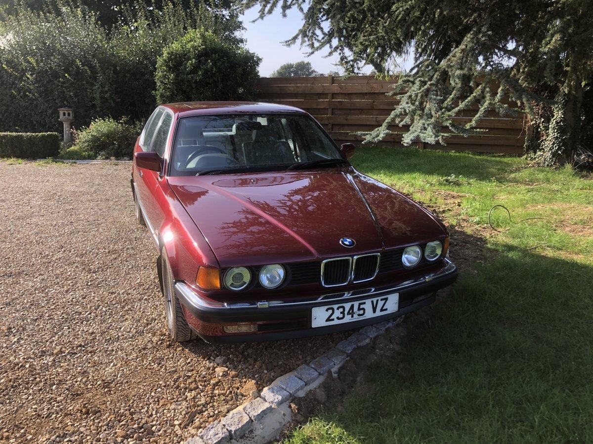 1992 Bmw E32 730i SE auto SOLD (picture 1 of 6)