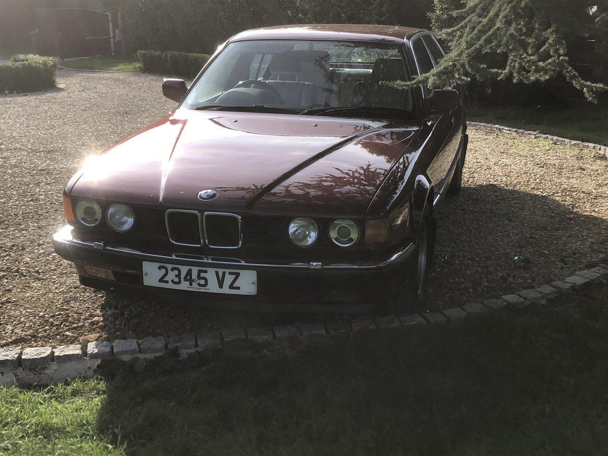 1992 Bmw E32 730i SE auto SOLD (picture 5 of 6)