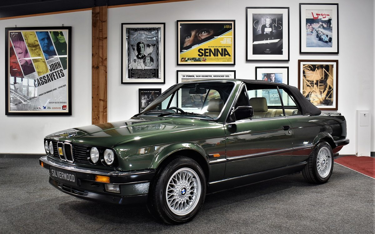 1990 E30 325i Cabriolet Manual For Sale (picture 1 of 6)