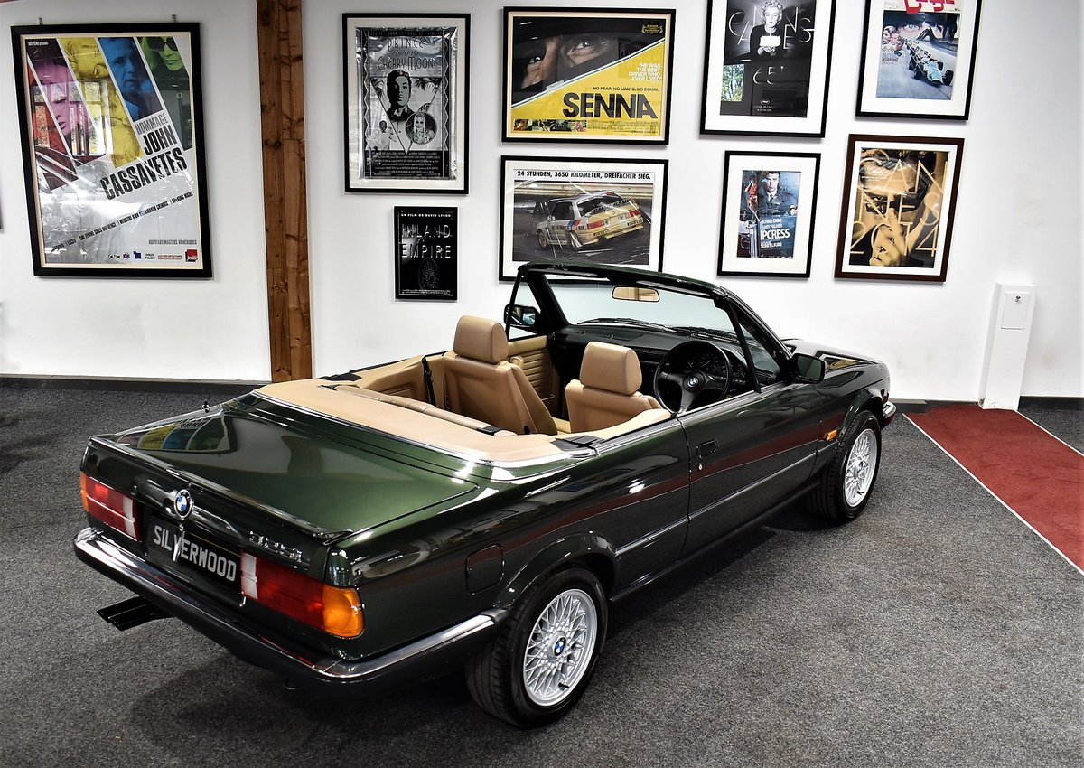 1990 E30 325i Cabriolet Manual For Sale (picture 5 of 6)