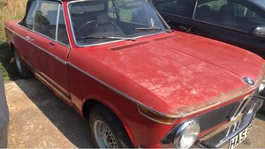 1975 BMW 2002 Bauer Cabriolet Project