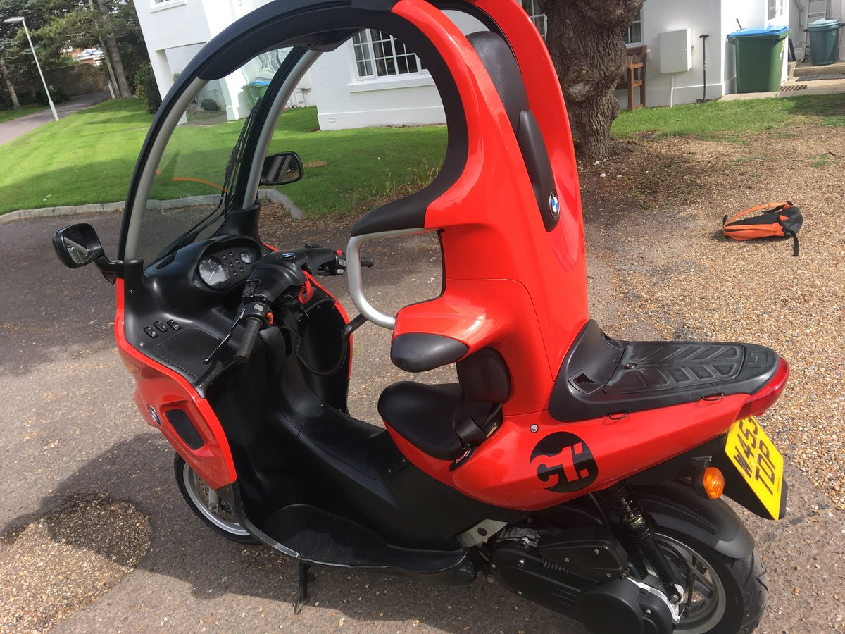 2000 Rare Low Mileage BMW C1 For Sale (picture 3 of 6)