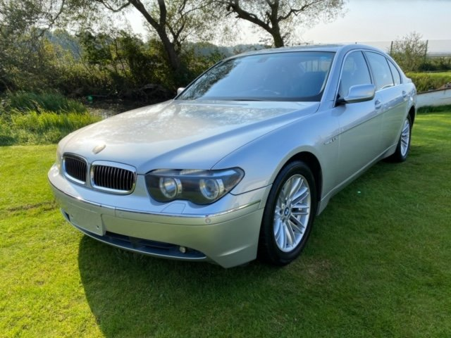 2003 BMW 7 SERIES 760 LI V12 LWB 6.0 AUTO * LEATHER SEATS * SUNRO For Sale (picture 1 of 6)