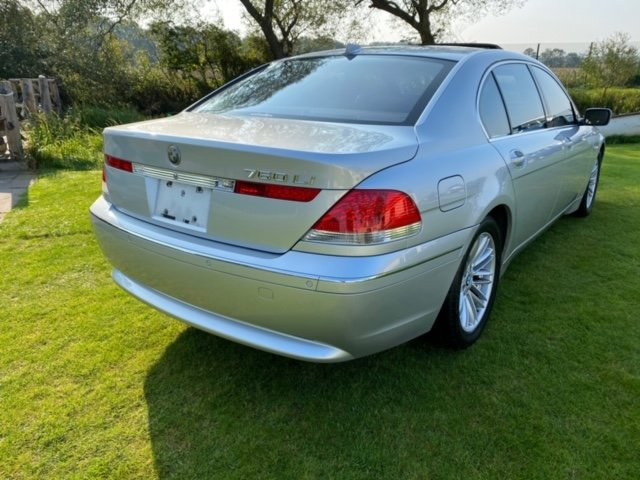 2003 BMW 7 SERIES 760 LI V12 LWB 6.0 AUTO * LEATHER SEATS * SUNRO For Sale (picture 2 of 6)