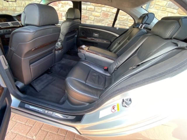 2003 BMW 7 SERIES 760 LI V12 LWB 6.0 AUTO * LEATHER SEATS * SUNRO For Sale (picture 4 of 6)