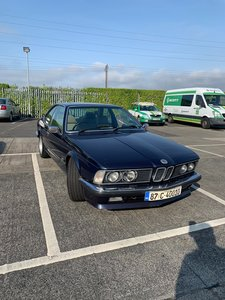 1987 Bmw 635csi for auction 26th sept dublin