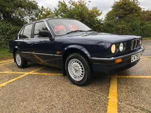 1986 BMW 316. E30 Lapis Blue. 1 owner. 64k. FSH. Original.